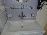 Salle de bains de l'appartement Acanthe (location à Néris-Les-Bains)